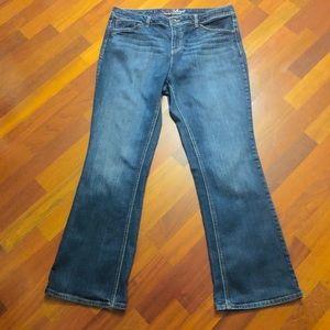 Woman's Tommy Hilfiger sz16 bootcut jeans